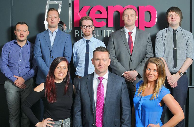Kemp Recruitment team photography