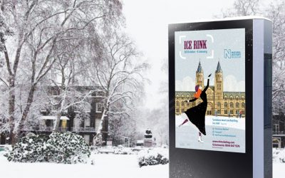Pitch for the Natural History Museum's Christmas Ice Rink