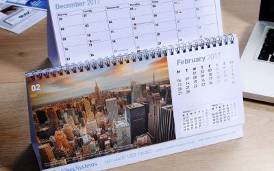 Order your bespoke promotional desktop calendars before its too late