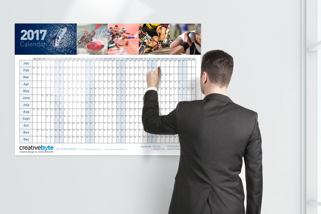 Personalise your own wall calendar for 2017 a perfect gift thats on show 365 days of the year highlight dates promote products and services