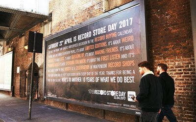 Record Store Day Advertising
