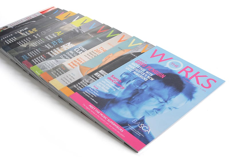 The latest edition of 'theworks' magazine