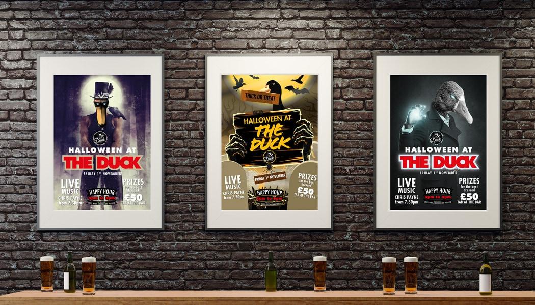 The Duck Posters – Halloween 2019