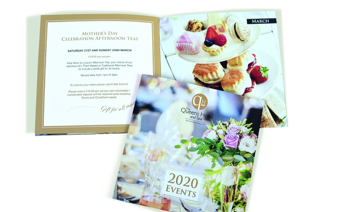 Events Brochure for The Queens Hotel