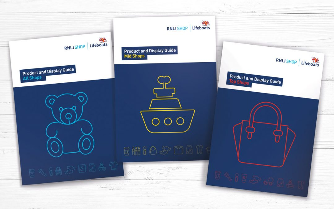 RNLI Product and Display Guides for 2020