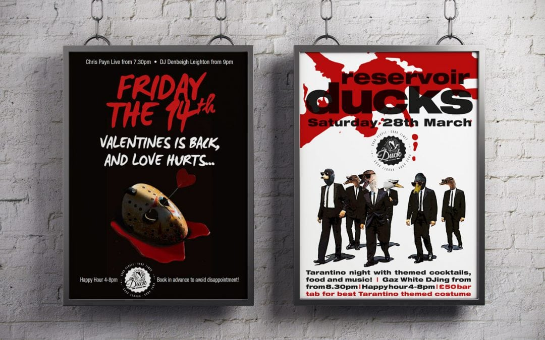 Poster design for The Duck