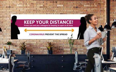 Free pdf Coronavirus signs